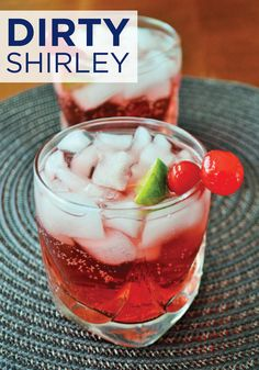 Turn your favorite childhood drink into a tasty adult beverage. Enjoy this Dirty Shirley recipe in your Hefty® Ultimate™ Easy Grip® Cups in your backyard and forget the cleanup!