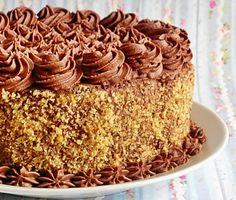 Reteta Tort de ciocolata - Torturi German Chocolate, Chocolate Cake, Romanian Food, Food Cakes, Vanilla Cake, Great Recipes, Cake Recipes, Cake Decorating, Food And Drink