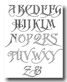 ... Calligraphy Fun on Pinterest | Typography alphabet, Calligraphy and