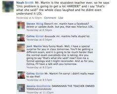 16 Teachers And Their Epic Facebook Fails - Brommando.com