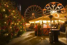 Christmas market, Opera Palace, Berlin, Germany.