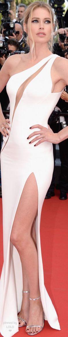 Doutzen Kroes in Atelier Versace 2015 Cannes Film Festival | LOLO❤︎