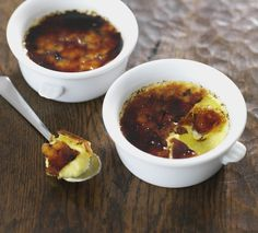 These vanilla-rich puds are deliciously decadent. If you don't own a mini blowtorch, caramelise them under the grill