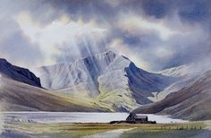 Original Watercolour Paintings and Signed prints of Snowdonia, North Wales, The Lake District, and Scotland by artist Chris Hull. Learn Watercolor Painting, Watercolor Painting Techniques, Watercolor Landscape Paintings, Watercolor Artwork, Watercolor Sketch, Watercolor Images, Watercolor Trees, Watercolor Artists, Watercolor Portraits