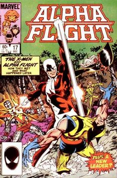 Alpha Flight #17 Jaime Mendoza, John Byrne (also a mighty Shoryuken on Logan's chin)   http://ebay.to/1MkkL4b