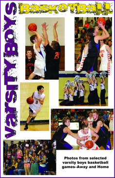 Selected photos from varsity boys basketball games this winter, both away and home. *Photos by Mark Jackson