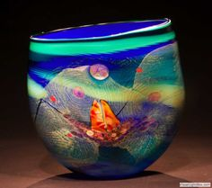chris hawthorn-what color in glass art