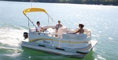 Sport Pontoon Boat | Compact | Tahoe Pontoon Boats