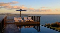 The Glasshouse - Waiheke Island Luxury, NZ | View Retreats #SwimmingPool