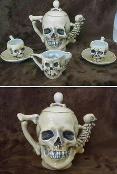 Well these would work well for the Pirate's & Faeries Tea Party