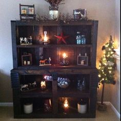 Hutch made out of pallets!