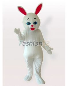 red ears bunny costume