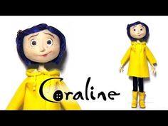 Coraline Inspired (Poseable) Doll - Polymer Clay Tutorial - YouTube