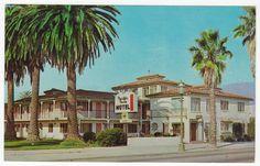 Postcards - United States # 225 - Pacific Park Motel, Santa Barbara, California