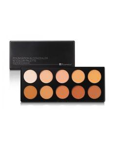 BH Cosmetics Foundation and Concealer Palette (Cream Contour Palette) http://bit.ly/23BMB1V