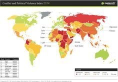 The 16 Countries With The Biggest Risk Of #Violence And Unrest  #FlipOver