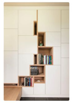 A real wall shelf. Found from Filip Janssens.