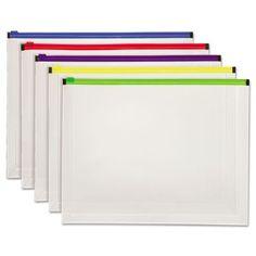Globe-Weis Poly Zip Envelopes - PFX85292 | OfficeSupply.com