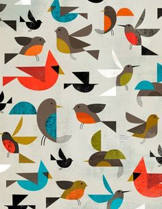 Pre-K: lesson on shapes    Bird Pattern.jpg Image  -  Buamai, Where Inspiration Starts.