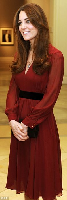 The Duchess of Cambridge unveiling of her portrait  National Portrait Gallery January 11, 2013