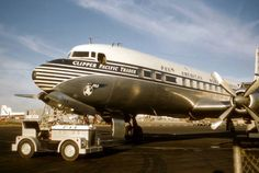 Pan American World Airways Douglas DC-7C 'Clipper Pacific Trader' - c/n 44886/705 - N744PA - DC- 7s flew with Pan Am between 1955 and 1966