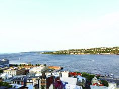 Quebec City and the Saint-Laurent River