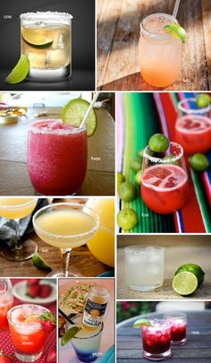 margarita-round-up... 9 fresh margarita recipes, like spicy grapefruit & key-lime raspberry!