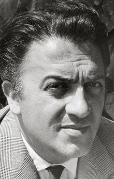 Magnum Photos-  View image only Ara Guler FRANCE. Cannes. Italian film maker Federico FELLINI. 1957.