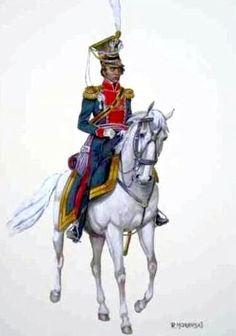 Colonnello Tyszkiewicz, del 17 ulani polacchi del ducato di Varsavia