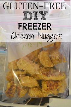 Gluten-Free Freezer Chicken Nuggets