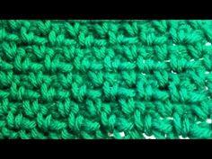 Crochet Granite Stitch by Crochet Hooks You - YouTube