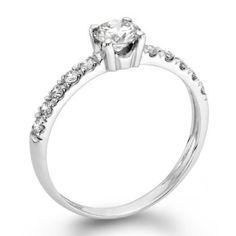 ND Outlet - Engagement   1/2 ctw. Certified GIA Round Diamond Solitaire Engagement Ring in 14k White Gold   Be the first to review this item | Like   (0)  Suggested Price:$4,550.00  Price:$2,490.00   Sale:$999.00   You Save:$3,551.00 (78%)