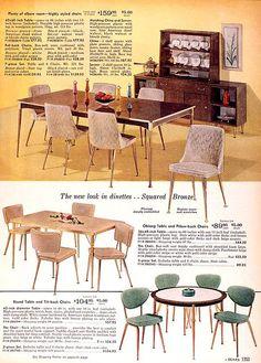 Sears Catalog Furniture 1960 Sears 1960 Fall Catalog