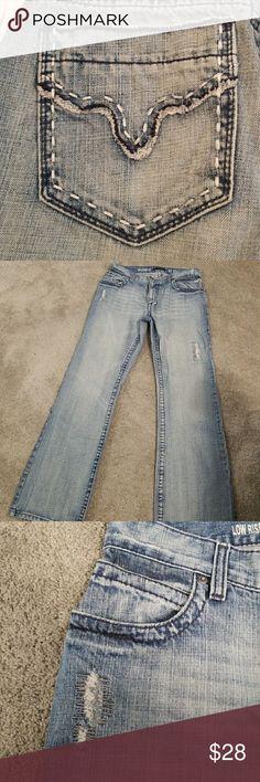 Inc men's jeans Inc men's boot cut jeans top stitch great back pockets.size 32w/32L INC International Concepts Jeans Bootcut