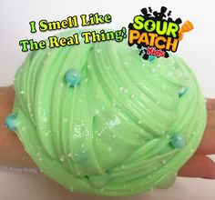 Homemade Sour Patch Kids SCENTED Slime SPECIAL EDITION