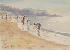 Evening by The Sea, Sicily - Lucy Willis Prints - Easyart.com