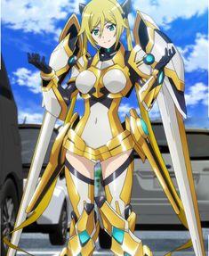 ore no twintail ni narimasu Sci Fi Anime, Anime Ninja, Mecha Anime, Anime Fantasy, Robots Characters, Fantasy Characters, Anime Characters, Cyberpunk Girl, Cyberpunk Character