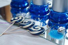Decorate for Chanukah with all the wonderful blue decor and have the jewelry to match it!