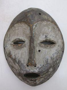 African Art  Tribal Art  Lega Mask From Democratic por sunstar2931
