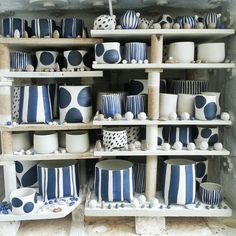 here my color pallet! studio | Bridget Bodenham Daylesford pottery