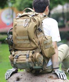 Military Hunting Hiking Fishing Outdoor Waterproof - Khaki
