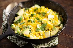 CREAMY CORN AND ZUCCHINI