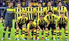 Equipos de fútbol: BORUSSIA DORTMUND 2012-13