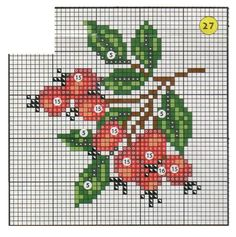 Cross Stitch Fruit, Cross Stitch Heart, Cross Stitch Flowers, Hardanger Embroidery, Cross Stitch Embroidery, Cross Stitch Designs, Cross Stitch Patterns, Palestinian Embroidery, Cross Stitch Finishing