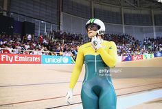 Anna Meares of Australia reacts after she was defeated by Stephanie Morton of Australia in the Women's Sprint Final at Sir Chris Hoy Velodrome during day four of the Glasgow 2014 Commonwealth Games on July 27, 2014 in Glasgow, United Kingdom.