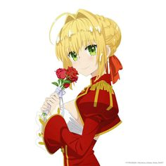 This HD wallpaper is about Fate Series, Fate/Extra, Nero Claudius, Red Saber, Original wallpaper dimensions is file size is Chica Anime Manga, Anime Art, Manga Art, Fate Zero Saber, Fate Stay Night Series, Gilgamesh Fate, Arturia Pendragon, Fate Servants, Fate Anime Series