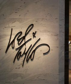 Lord & Taylor Store Signage