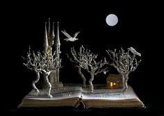art, Su Blackwell, book art