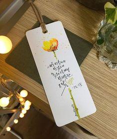 #고은 #그꽃 #버들글씨 #책갈피 #시 #시스타그램 #캘리그라피 #수채캘리 #대전수채캘리 #꽃 #꽃그림 #책갈피의뢰 고은님의 '그꽃'을 책갈피로 담아보았습니다. Bookmark Craft, Diy Bookmarks, Bookmark Ideas, Calligraphy Flowers, Caligraphy, Korean Text, Best Gift Cards, Eraser Stamp, Diy And Crafts