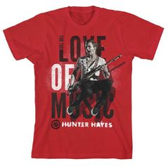 for the love of music t-shirt hunter hayes